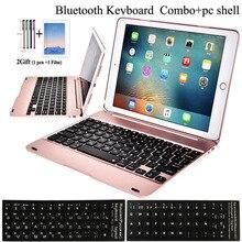 Flip Keyboard For Apple New iPad 9.7 2017 2018 5th 6th Generation Wireless Bluetooth Keyboard Case for iPad Air 1 2 5 6 Pro 9.7