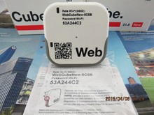 Ue Huawei E8238 WEBCUBE 5BE9 3 G 5.76 / 21.6 Mbps Modem móvel WiFi 300 Mbps Mini Router