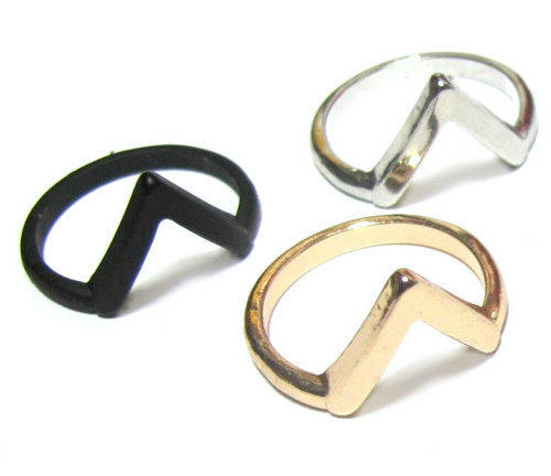 Fashion simple duckbill bird ring finger ring accessories