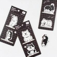 2 шт./компл. Kawaii щенок собака магнитные закладки для книг маркер страницы канцелярские принадлежности для школьных канцелярских товаров Бумага зажим