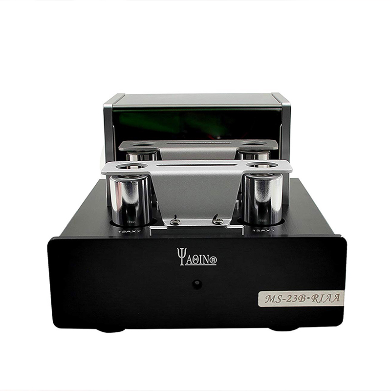 YAQIN MS-23B Hifi Tube Phono amplificateur 12AX7 préamplificateur préampli ampli à lampes