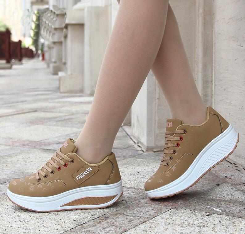 Women Sneakers Plus Size 35-43 Lace Up Canvas Shoes Black Casual Shoes Breathable Sneaker Lady Shoes Woman Flats Sport Shoes