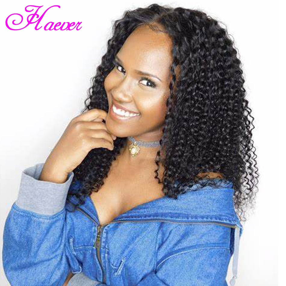 Curly Lace Front Human Hair Wigs With Baby Hair Brazilian Remy Hair Lace Wigs Pre Plucked Bleached Knots(China)