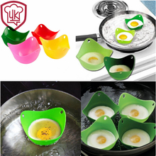 4Pcs/Lot Silicone Egg Poachers Bowl Cooker Boiler Cuit Oeuf Dur Poaching Mold Tools