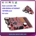 P6 p8 p10 p12 p16 p20 светодиодный экран полноцветный светодиодный автомобильный знак с калер X8E полноцветный ETHERNET порт контроллера карты 128*9999 ПИКСЕЛЕЙ