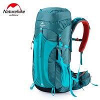 Naturehike 65L открытый восхождение рюкзак с профессиональным дождевик 76x33.5x25 см регулируемый плечевой экспедиция сумка 1.98 кг