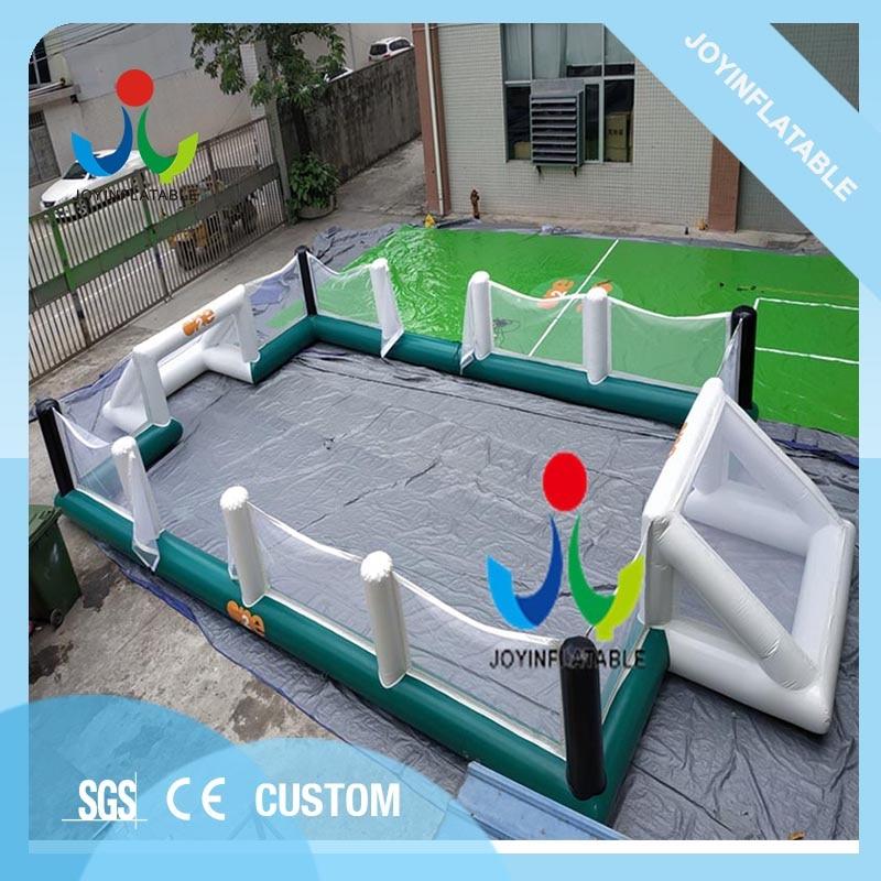Terrain de Football gonflable de jeux de Sport de Football en plein air pour les enfants et les adultes