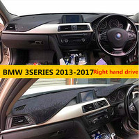 2013-2017Hot selling right hand dirve elegant style car dashboard mat for BMW 3SERIES non slip pad for BMW