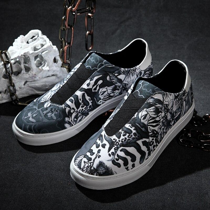 Chaussures Travail Chinois Rue D'origine Lowheel Culture Femme Mode Hellfire De Confortable Hippop Idx Graffiti w7xTpCqCP