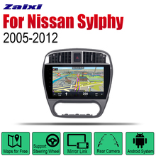 ZaiXi Android Car Radio Stereo GPS Navigation For Nissan Sylphy 2005~2012 Bluetooth wifi 2din Multimedia Player