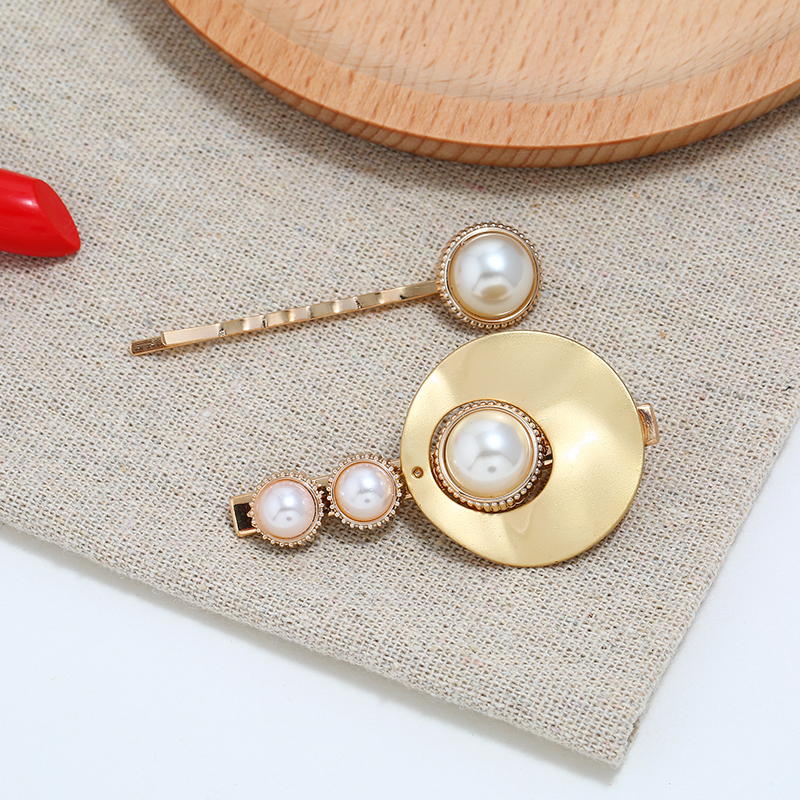 Natural Fashion Imitation Pearls Hairpins Hearwear Girl Hair Barrettes For Women Clips Jewelry Styling Tools Hair Accessories in Hair Jewelry from Jewelry Accessories