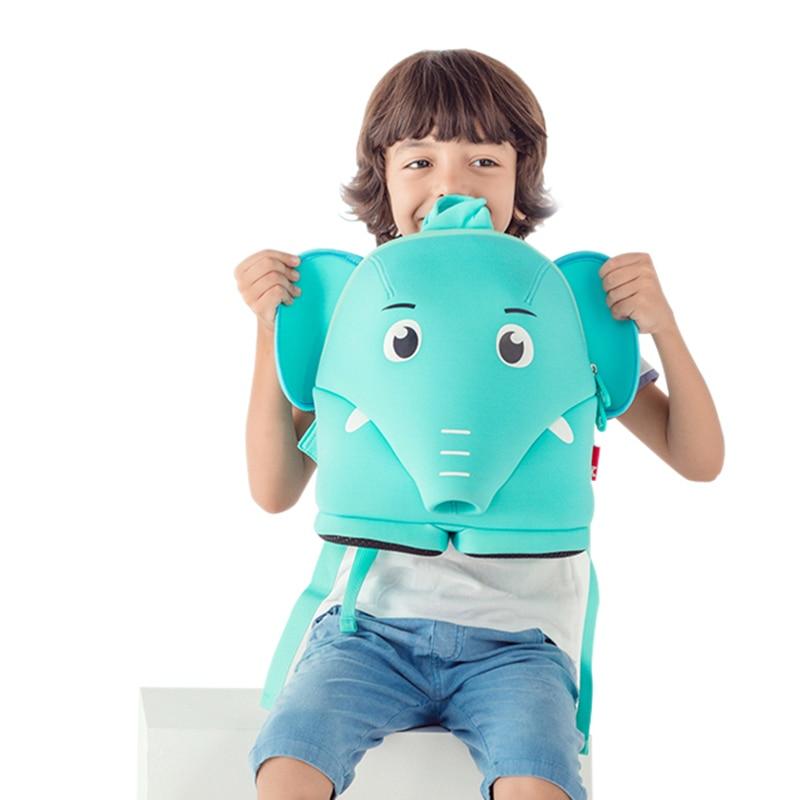 NOHOO 3D Единорог сумка ранцы детские сумки для мальчиков и девочек детей школьного рюкзака начальной школы сумка странные вещи водонепроница... ...