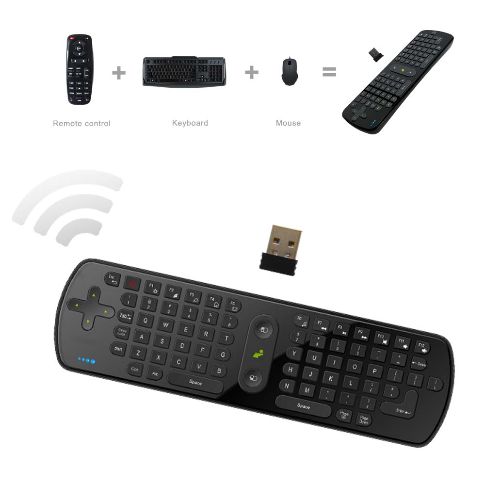 RC11 All in one 2.4G air mouse Wireless remote control Keyboard for Android TV Box smart TV Computer English Version cookery postcards 100 cookbook covers in one box