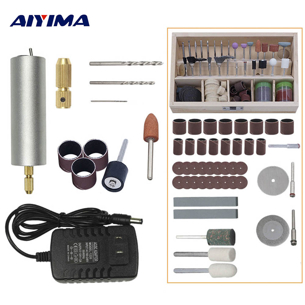 Aiyima Engraving Pen Electric Drill DIY Drill Electric Rotary Tool Grinder Mini Drill Grinding Machine mini electric drill mini grinder kit micro drill electric grinder set engraving machine polishing drilling grinding with red box
