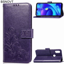 For Xiaomi Mi Play Case Silicone Leather Wallet Dirt-resistant Phone Bag Cover