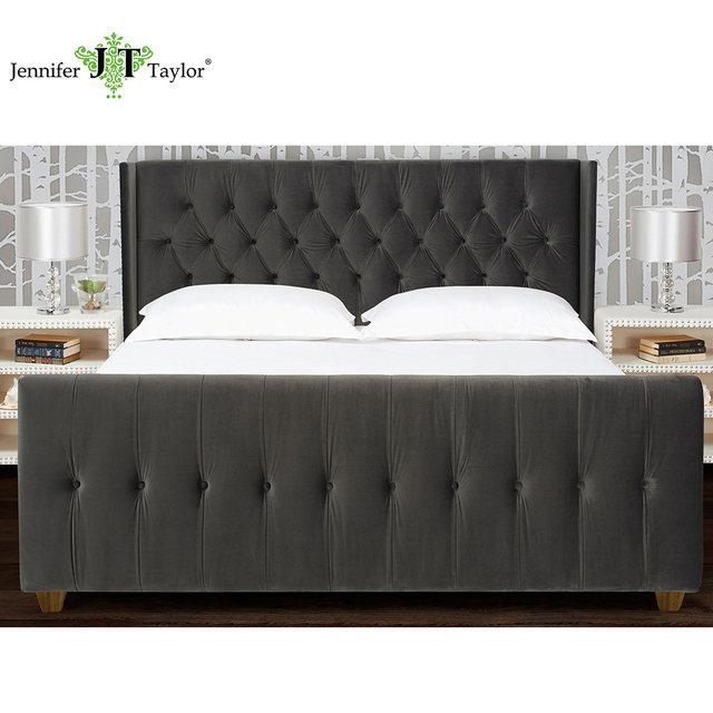 Tienda Online Jennifer Taylor Hogar, tapizados cama, Rey, terciopelo ...