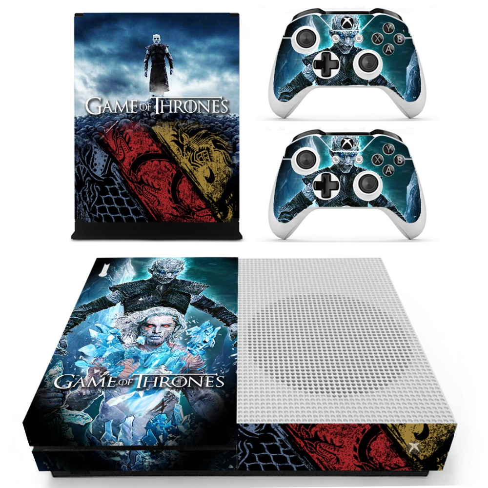 Game of Thrones Winter is Coming Skin Sticker Decal For Xbox One S Console and Controllers for Xbox One Slim Skin Stickers Vinyl