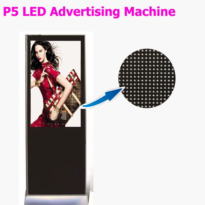 P5 led advertising machine outdoor led advertising board p5mm 3528SMD led display