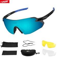 BATFOX UV400 Cycling sunglasses Rimless Outdoor Sports Bicyc