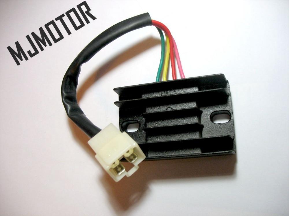 4-Line פינים 12V מתח רגולטור מיישר עבור - אופנוע אביזרים וחלקים