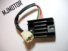 4 Line Pins 12V Voltage Regulator Rectifier For Chinese Scooter 4 stroke GY6 ATV Dirt bike