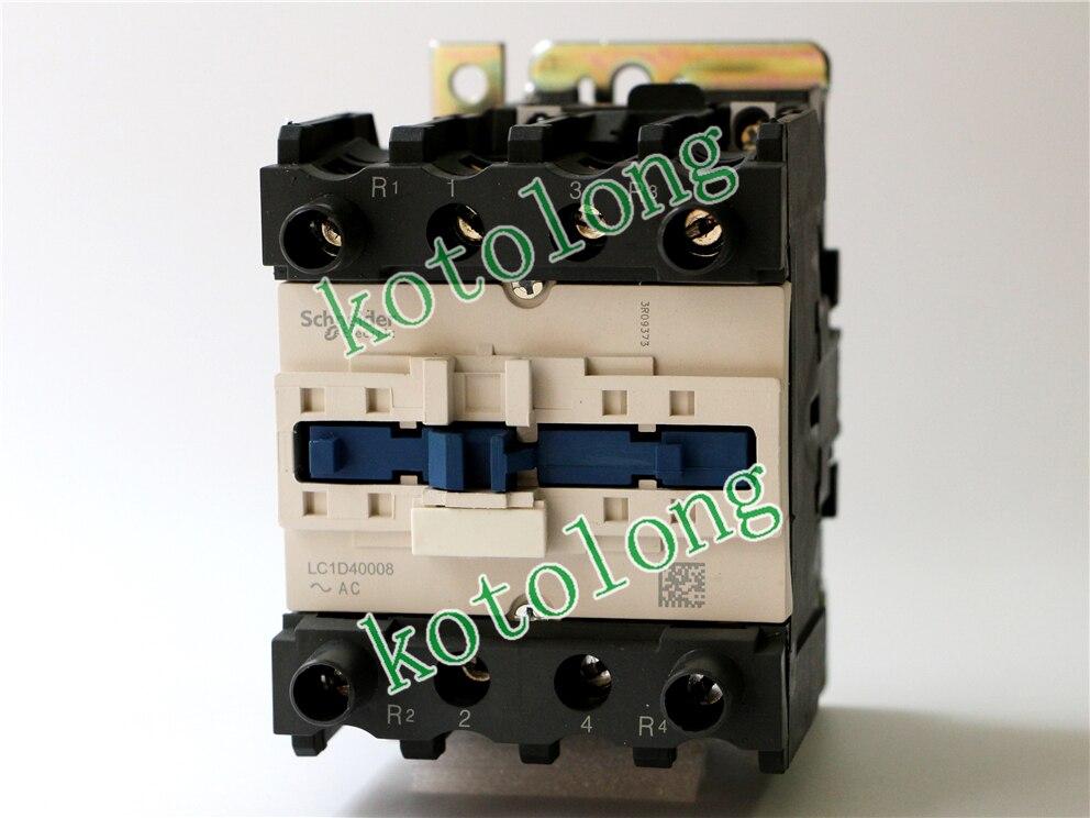 AC Contactor LC1D40008F7 LC1-D40008F7  110V LC1D40008FE7 LC1-D40008FE7 115V LC1D40008G7 LC1-D40008G7 120V LC1D40008K7 100V ac contactor lc1d80008f7 lc1 d80008f7 110v lc1d80008fe7 lc1 d80008fe7 115v lc1d80008g7 lc1 d80008g7 120v lc1d80008k7 100v
