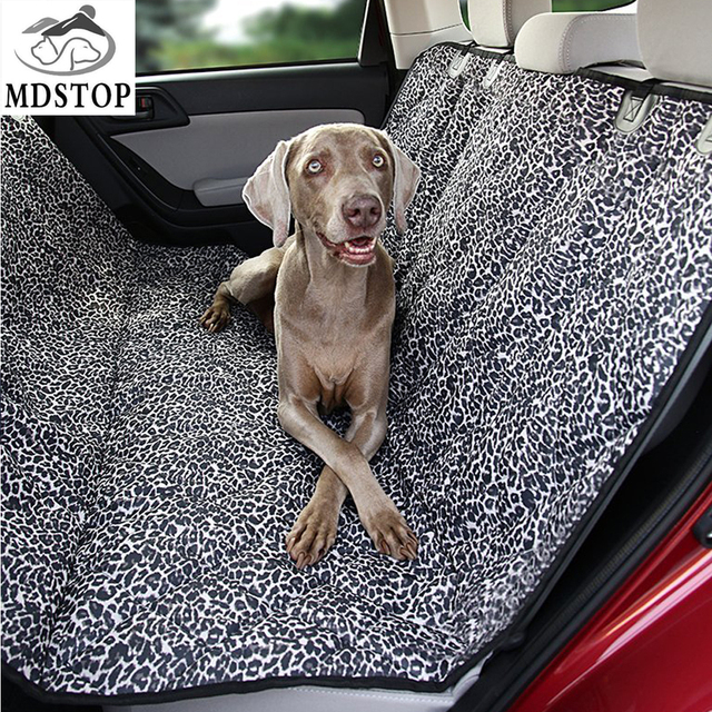 2017 New Pet Car Seat Cover Protector Luxury Leopard Silicone Nonslip Dog  Auto Back Seat Mat Cat Hammock for Midsize SUV Trucks 018c9834b