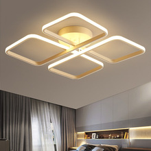 купить Square Ceiling Lights Bedroom Living Room Modern LED Ceiling Lamp with Remote Control Light Fixtures Home Lighting Ceiling Light по цене 7971.41 рублей