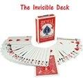 The invisible baralho bicicleta incrível magic cartões close up street magic magic adereços truques de mágica encenar mentalismo comédia kid brinquedos puzzle