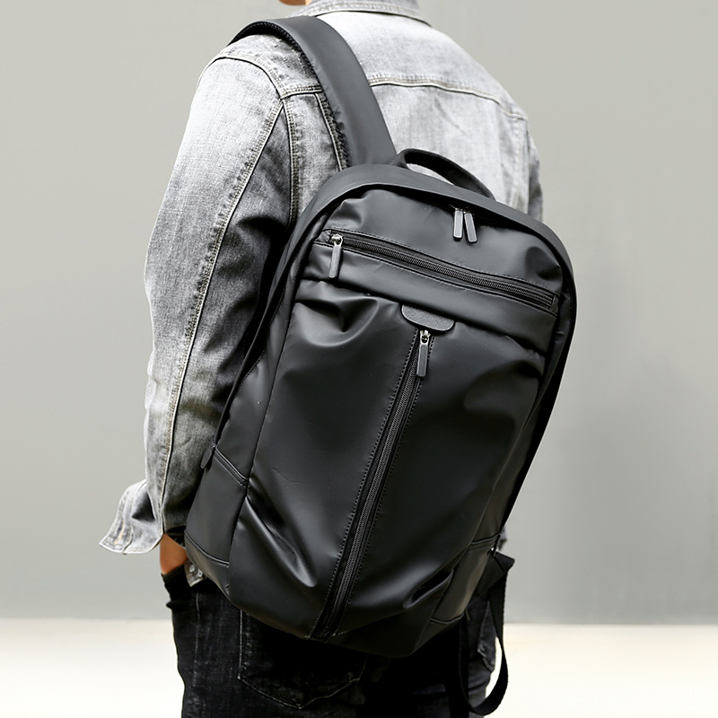 2019 JIULIN Men's Shoulder Bag Large Capacity Computer Bag Waterproof and Wear-resistant Travel Bag Fashion Business Backpack(China)
