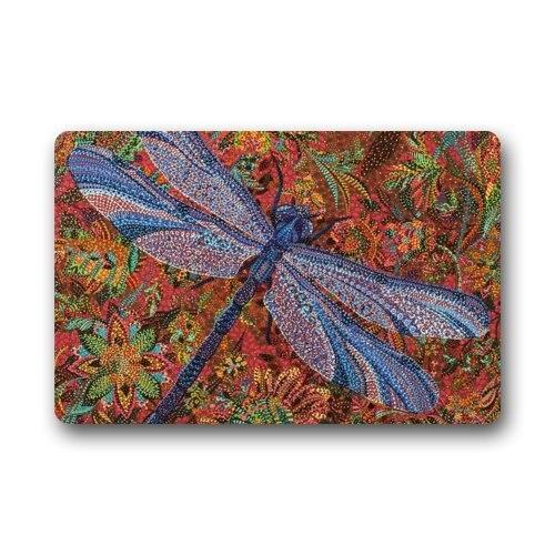 Trippy Dragonfly Art Painting Doormats Floor Mat Door Mat Rug Indoor ...
