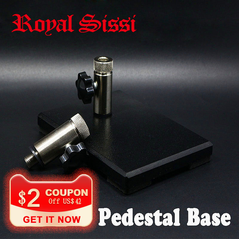 Royal Sissi 1set pedestal base intergrated base with 3 8 5 16 junctions carbon steel material