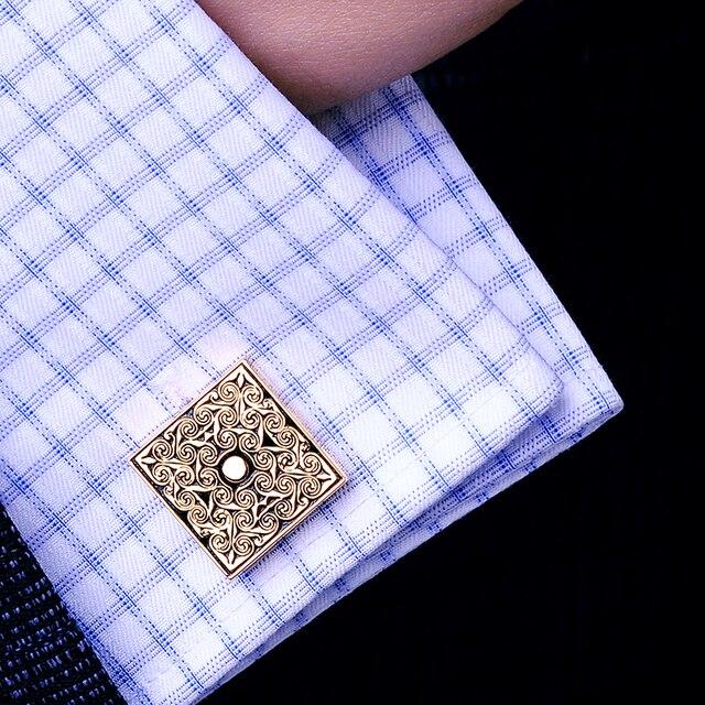 Фото мужские французские запонки kflk роскошные свадебные золотого цена