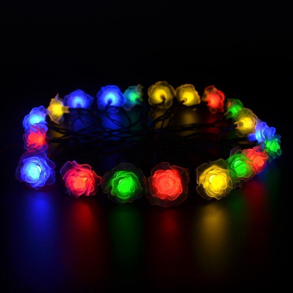 Aliexpresscom Buy Solar Powered Christmas Light 16ft 20 LED