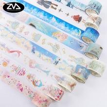 5M-7M Fairy tale series Scrapbooking DIY Planner Scrapbooking  decorative tape Japanese washi tape masking tape School Supply