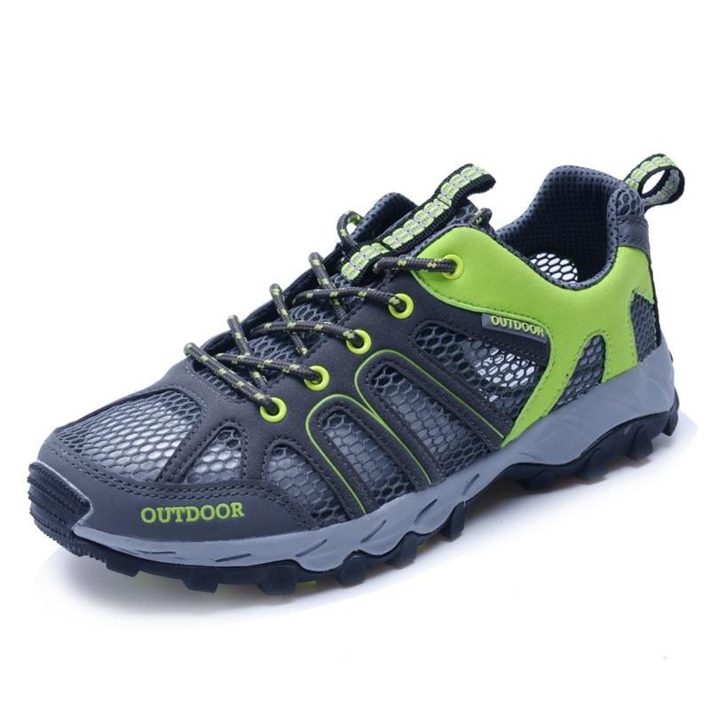 Verano Mesh Air Upstream Shoe zapatos casuales al aire libre para - Zapatos de hombre - foto 5