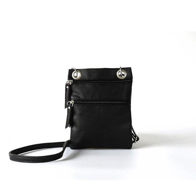 Women Pu Messenger Bags Vintage Mini Ladies Crossbody Bag Fashion Sling Bag for Women Coin Purse 1