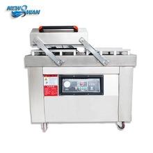 Stainless Steel Double Chamber Vacuum Packaging Machine Continuous Vacuum Packaging Machine Food Vacuum Machine TD-DZ40