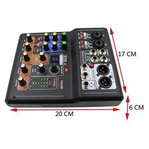 Image 5 - LEORY ミニ 6 チャンネルオーディオ DJ カラオケサウンドミキサーミキシングコンソール高品質の Dsp 効果 16 種類 PC オーディオ Ktv 会議