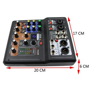 Image 5 - LEORY Mini 6 Channels Audio DJ Karaoke Sound Mixer Mixing Console With High Quality DSP Effect 16 Types For PC Audio KTV Meeting