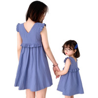 Family Look Mom and Daughter Dress Juve Family Clothing Mother Daughter Dresses Baby Girl Clothes Matching Outfits big sister