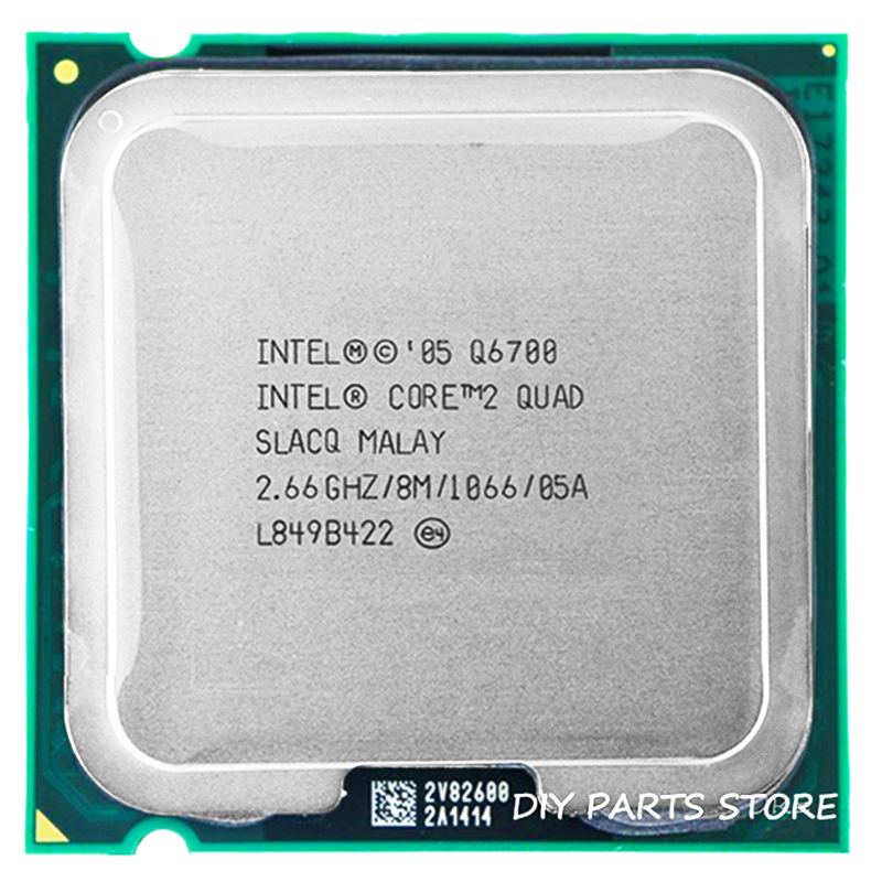 4 core INTEL Core 2 Quad-core Q6700 CPU Prozessor 2,66 Ghz/8 Mt/1066 MHz) sockel LGA 775