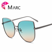 MARC UV400 WOMEN Cat eye fashion sunglasses PBlue Purple Red Alloy