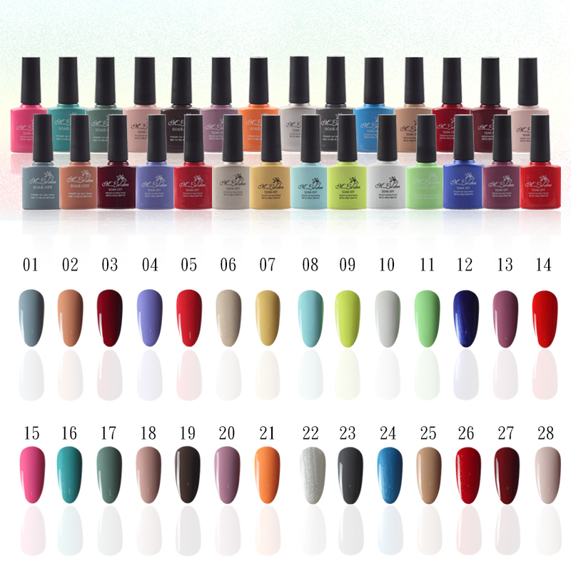 M001028 m ladea 8 3ML 140 colors font b Nail b font GEL Polish UV