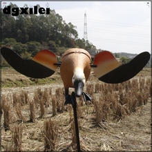 2017 Xilei Wholesale Outdoor New Upgrade Russian 6V Mallard Duck Ducoys Duck Hunting With Magnet Spinning Wings  spain wholesale outdoor hunting plastic duck decoy remote control 6v mallard hunting decoys with spinning wings from xilei