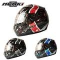 Hot Promotion Motorcycle Helmets Full Face Motorbike Capacete Casco Motos Casque Nenki Brand 820