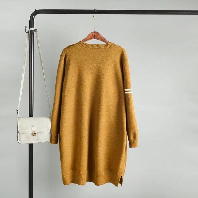 Casual Noir Vêtements Plus 079 Petit Chandails Modèle Automne Pour Tricot De Fille Femmes jaune C3 Hiver La Cardigans 3xl navy Taille P1wAqU