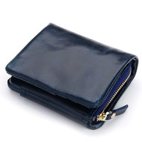 New Design Fashion Multifunctional Purse Genuine Leather Wallet Women Short Style Cowhide Purse Wholesale And Retail