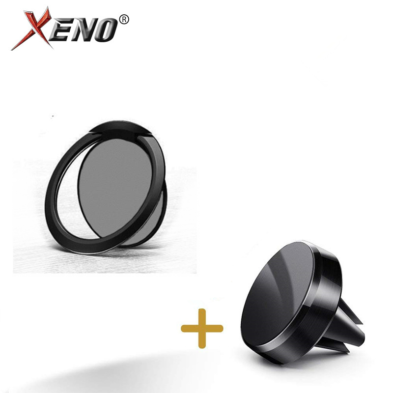 Ultra-thin Metal Finger Ring Mobile Phone Smartphone Stand For IPhone XS 8 Wall Support Mobile Phone Holder For Car Mount Stand