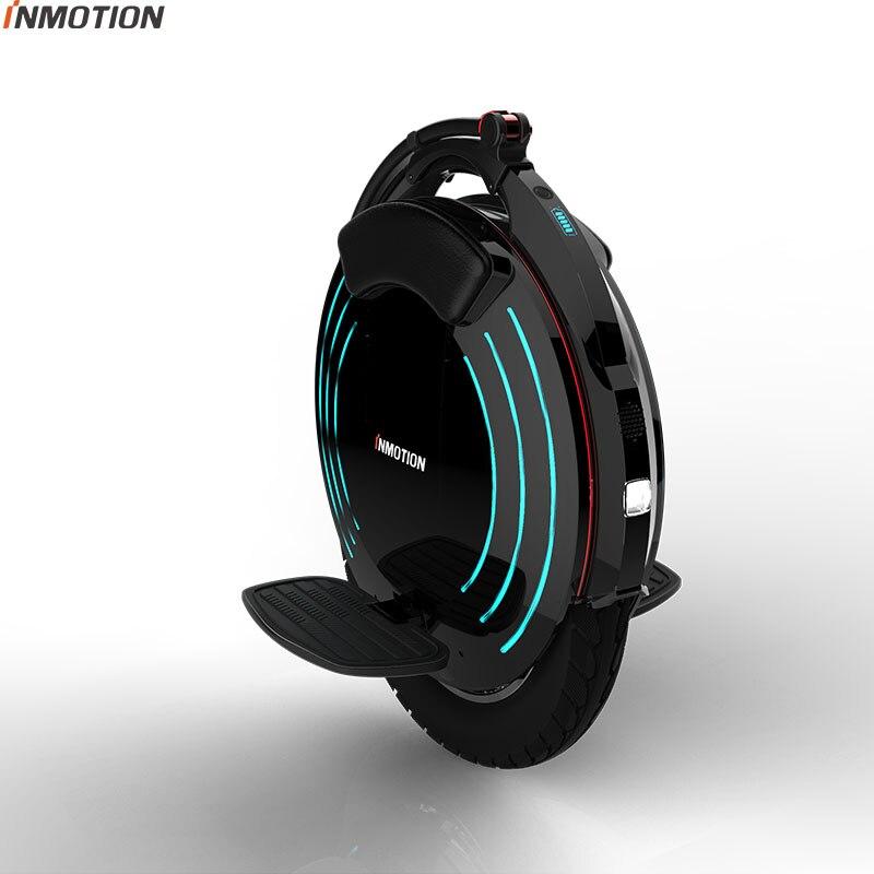 2018 INMOTION V10F Électrique monocycle haute performance 2000 w moteur, vitesse 40 km/h Haute pédale une roue scooter 16 pouces intelligent